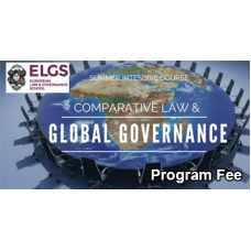 ELGS Comparative Law & Global Governance – CLGGSS Program Fee